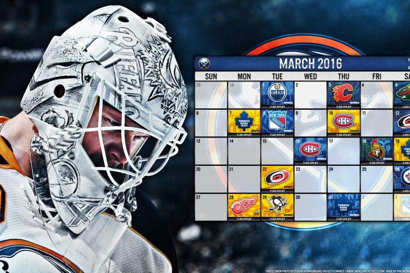 March 2016 featuring Robin Lehner: Lehner