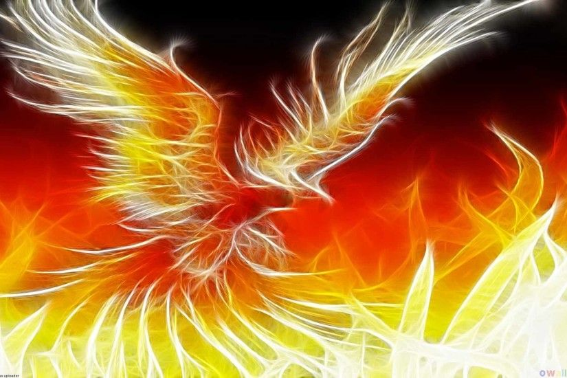 Phoenix (Illustration) - Mythical Creatures Wallpaper