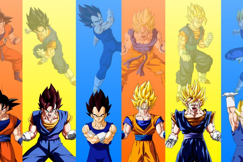 Vegito Base and SSJ