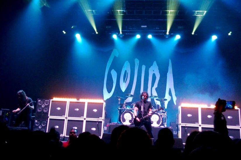Gojira live at the Bayou Music Center in Houston, TX. 2013 North American  Tour - YouTube