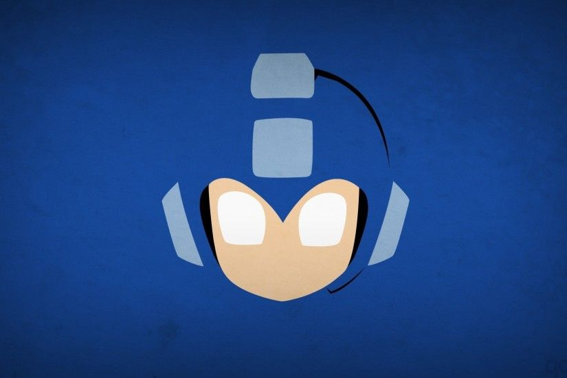 minimalism, Simple Background, Video Games, Mega Man Wallpapers HD /  Desktop and Mobile Backgrounds