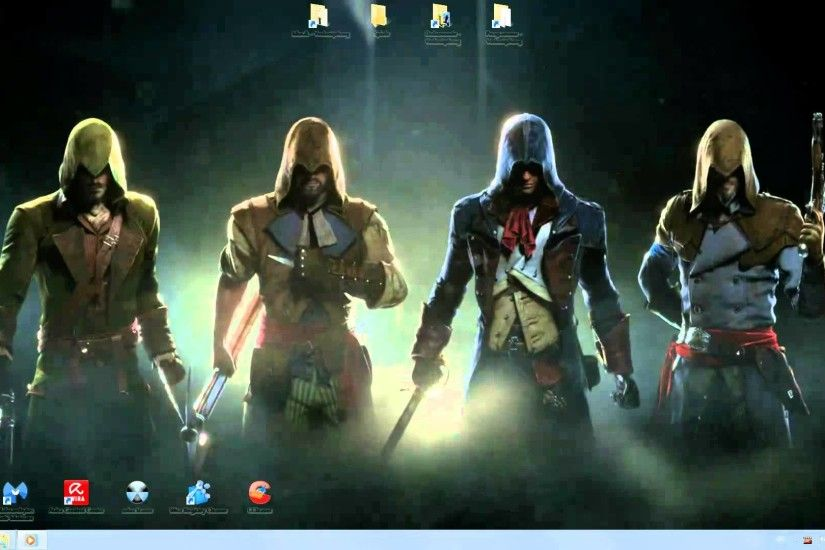 Assassins Creed Unity Animated Desktop Wallpaper Background Full HD  1920x1080 Download - YouTube