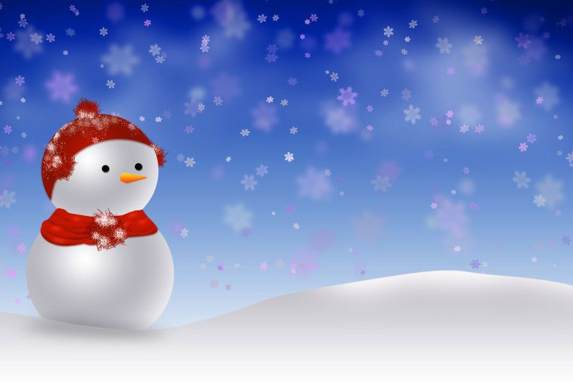 Snowman Merry Christmas wallpapers Wallpapers) – Wallpapers For Desktop