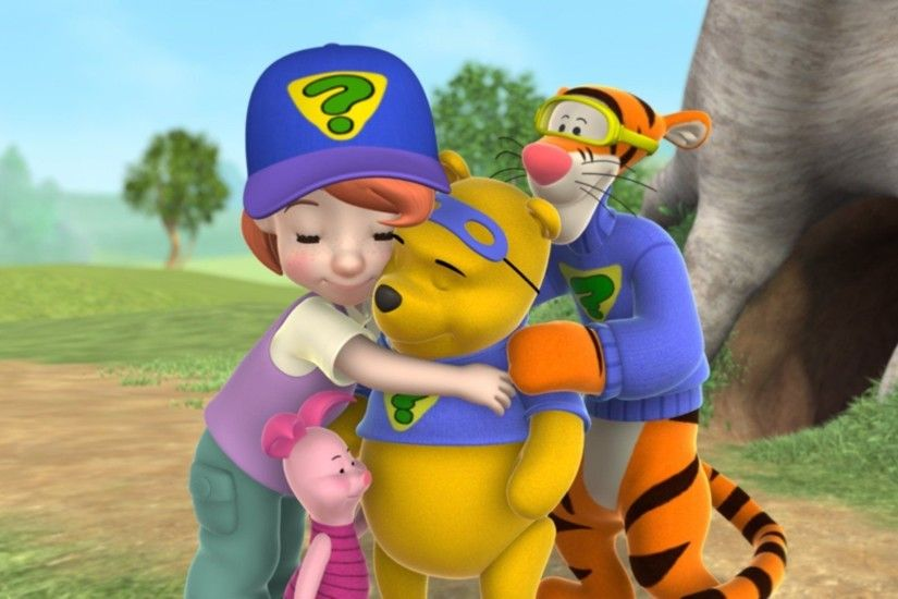 My Friends Tigger & Pooh (TV Series 2007-2007) - Backdrops — The