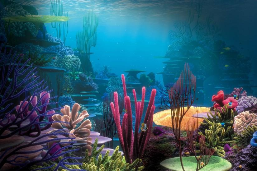 amazing underwater background 2560x1600 windows 7