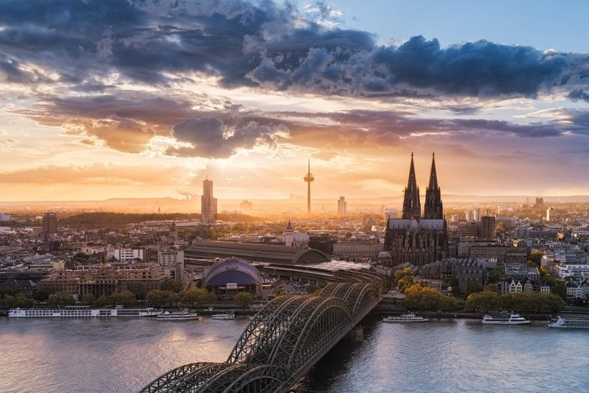 Previous: Hohenzollern Bridge Cologne ...