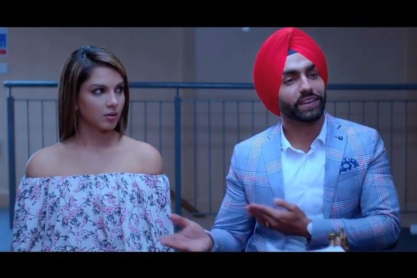 Sweet Couple Monica Gill And Ammy Virk Sat Shri Akal England Punjabi Movie  Wallpapers