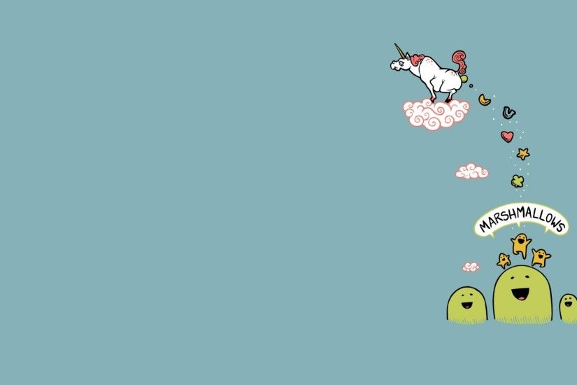 Cute Unicorn Wallpaper Widescreen Image Gallery - HCPR .