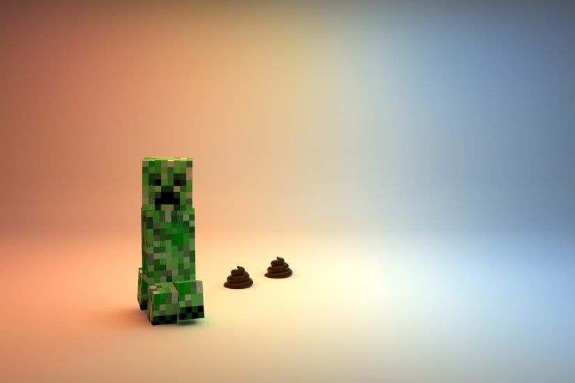 Creeper Minecraft Cool Pictures HD Wallpaper