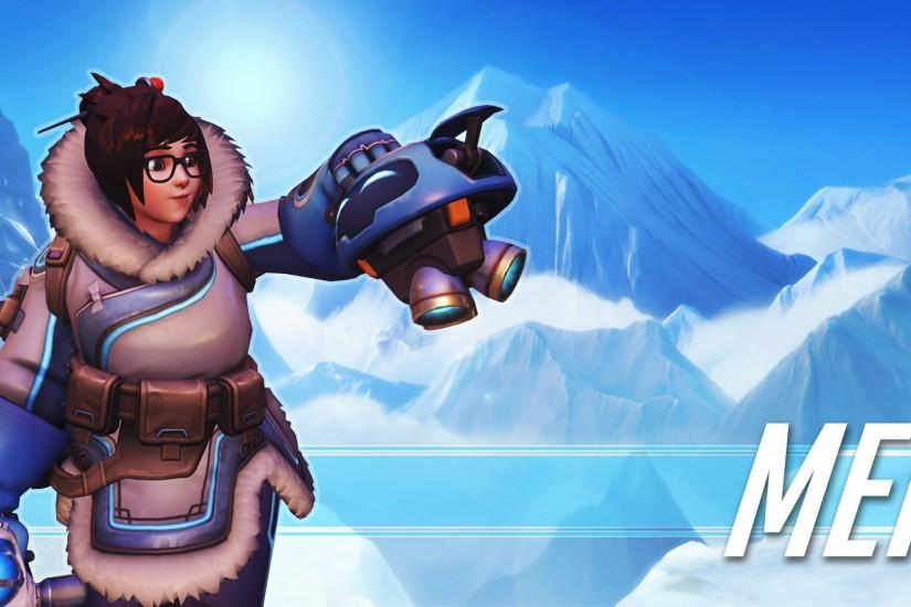 Mei Ling Zhou, Livewirehd (Author), Blizzard Entertainment, Overwatch,  Video Games, Mei Wallpaper HD