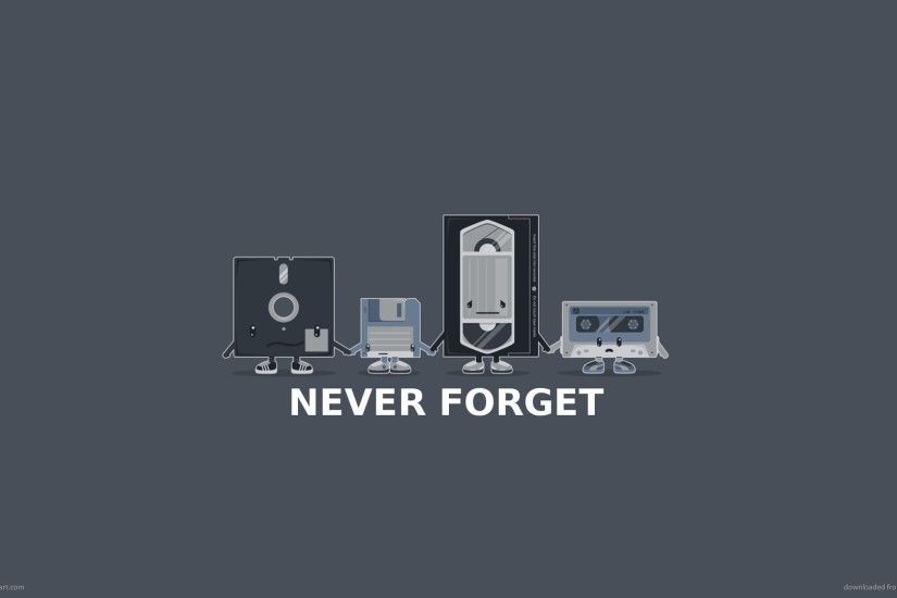 1920x1080 Old Technology Never Forget wallpaper