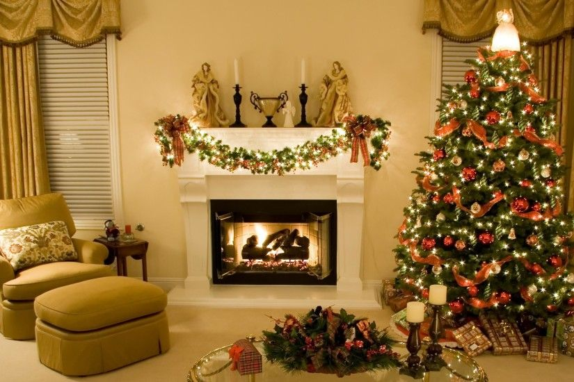 modern-christmas-home-fireplace-christmas-tree-gifts-free-
