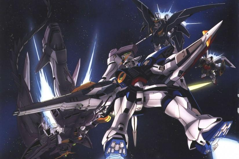 Wallpapers For > Gundam Wing Zero Wallpapers