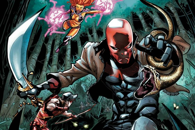 Comics - Red Hood And The Outlaws Wallpaper