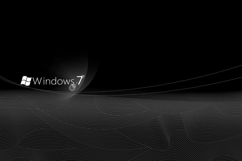 Windows 7 Elegant black Desktop Wallpaper and make this wallpaper for .