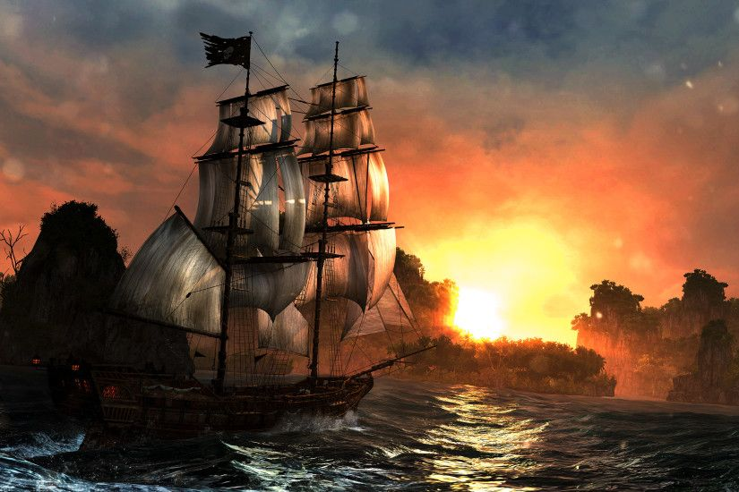 123 Assassin's Creed IV: Black Flag HD Wallpapers | Backgrounds - Wallpaper  Abyss