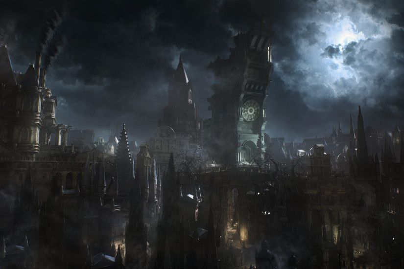 bloodborne concept art - Google Search · City WallpaperDark ...