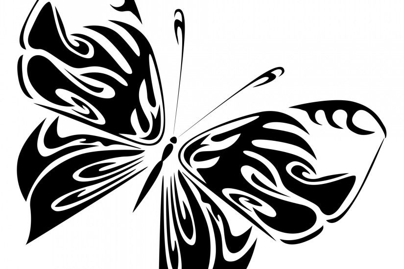 drawing,black,butterfly,white,isolated,background,diagonal,diurnal,