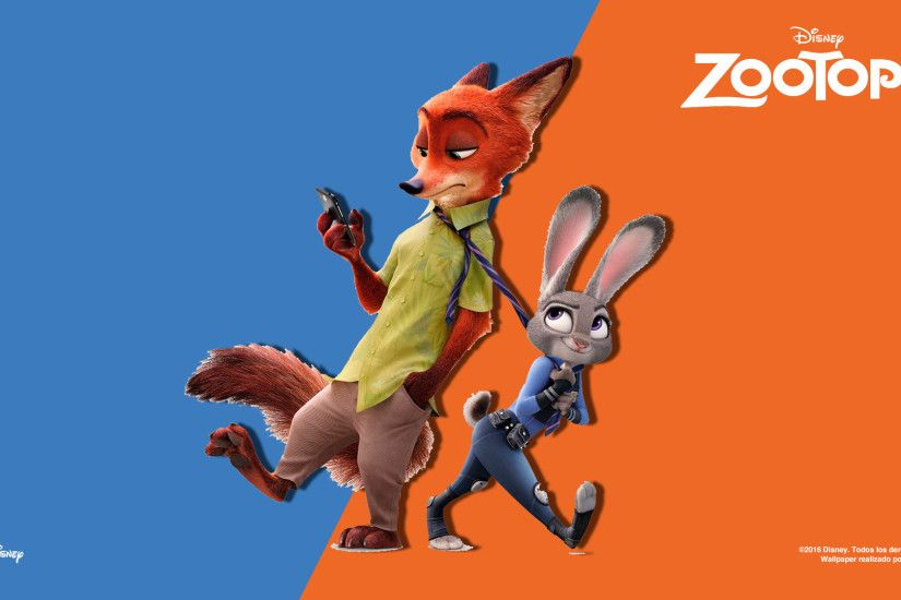 ... Cuarto Wallpaper Latino de ZOOTOPIA (2016). by DWOWForce