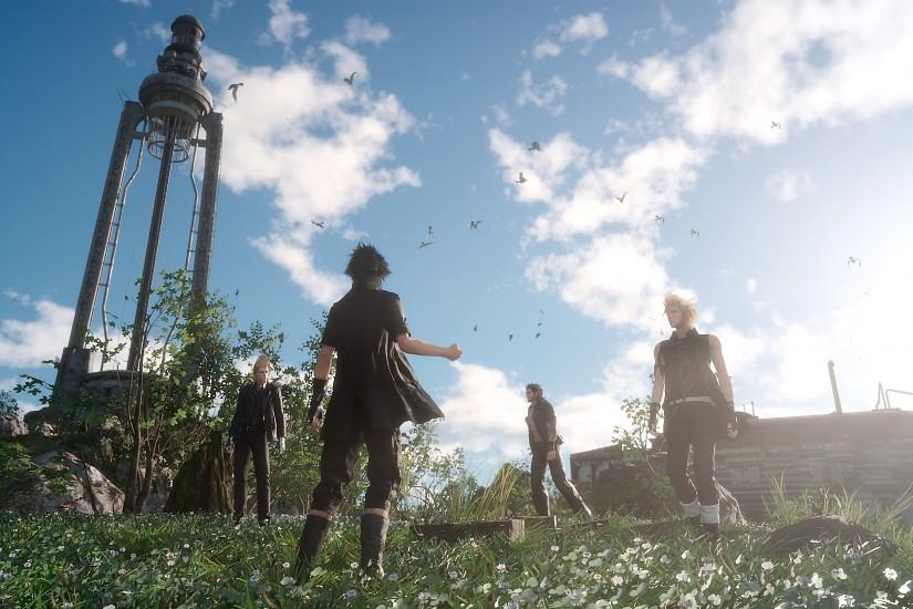 download free final fantasy 15 wallpaper 3840x2160 for windows 7