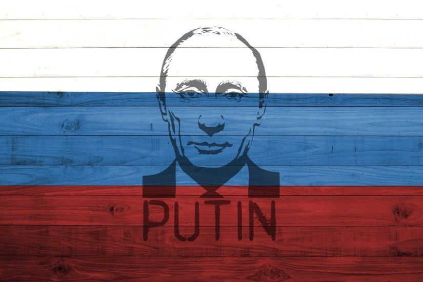 Vladimir Putin, Presidents, Russian, Flag, Wood, Painting HD Wallpapers /  Desktop and Mobile Images & Photos