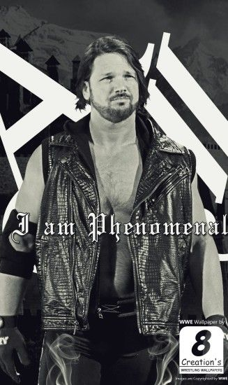AJ Styles iphone Wallpaper by Arunraj1791 on DeviantArt