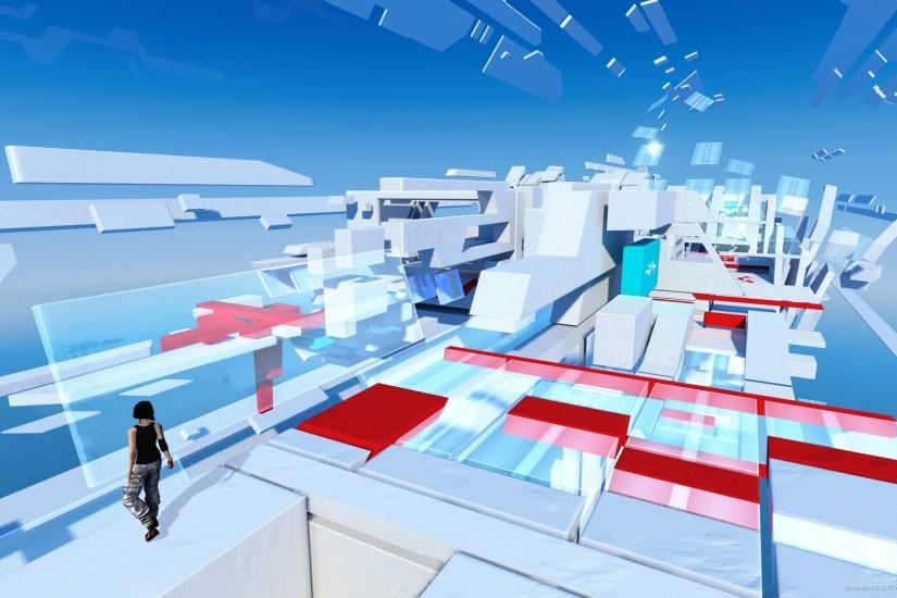 Mirror's Edge Superstructure for 1920x1080