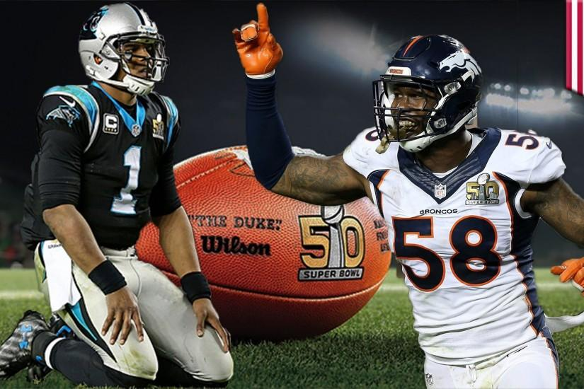 Broncos win Super Bowl 50: Denver D annihilates Cam and Panthers for 24-10  win - YouTube