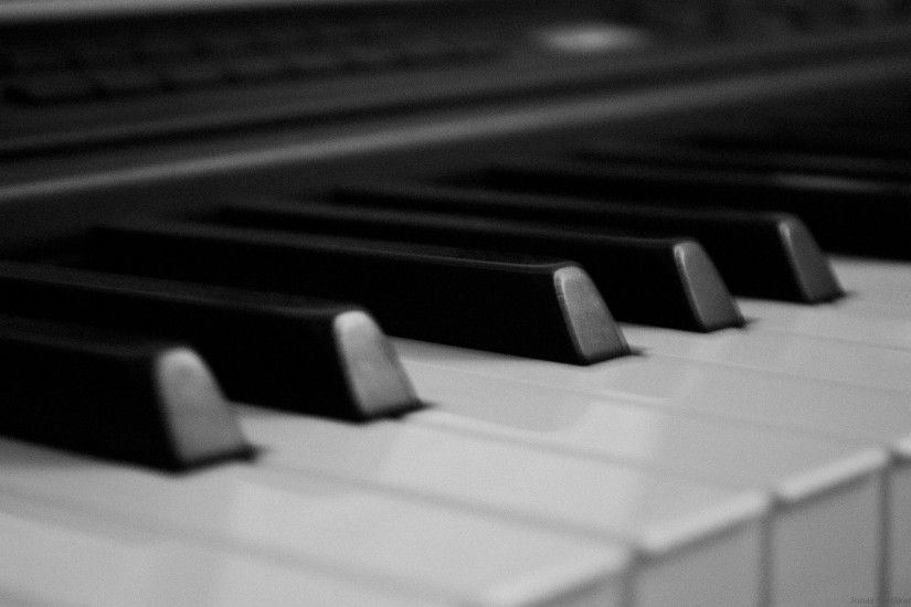 Preview wallpaper keys, piano, buttons, black, white 1920x1200