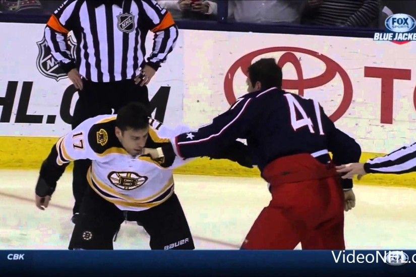 Milan Lucic Vs Dalton Prout Fight 2 ,Dec 27 ,2014
