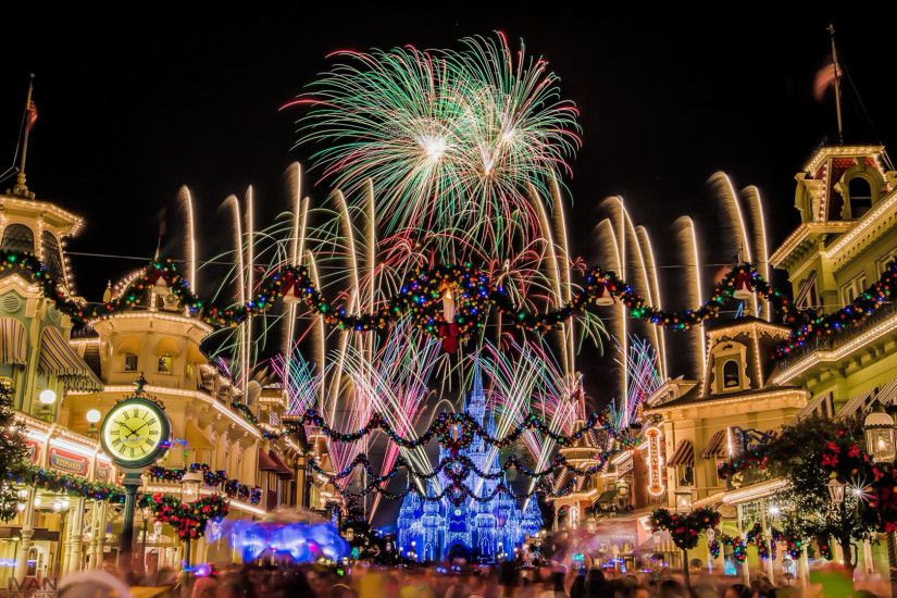 1920x1200 disney world flower desktop wallpaper - Disney World Christmas  Wallpaper Backgrounds