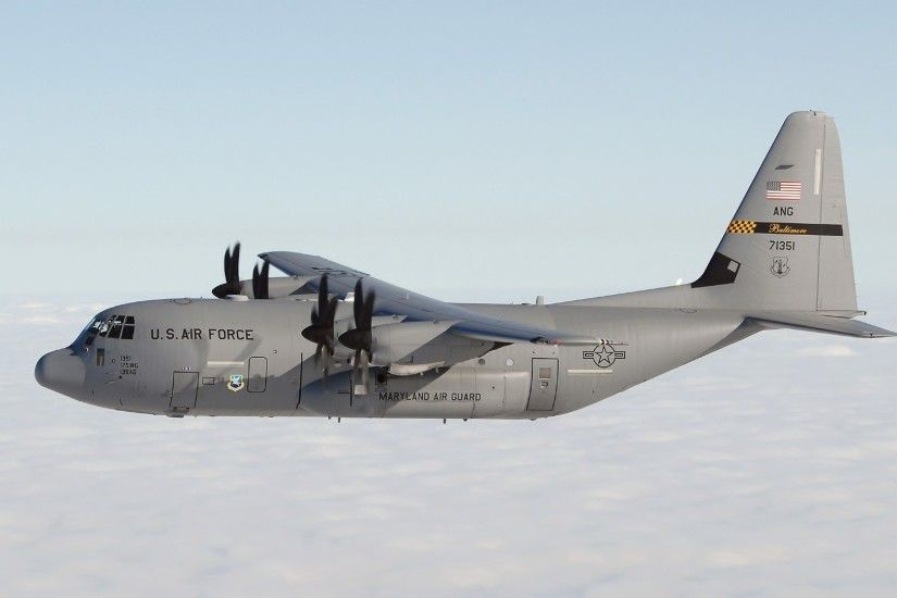 Lockheed C-130 Hercules HD Wallpaper 1920x1080