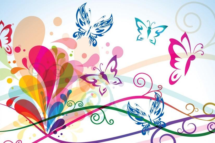 Colorful Butterfly Backgrounds Wallpaper 7 Hd Wallpaper .