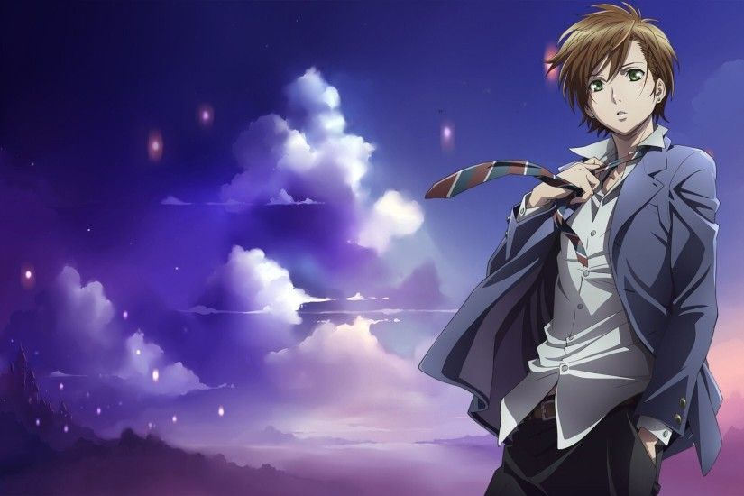 Anime School Uniforms Boys Zetsuen No Tempest Takigawa Yoshino