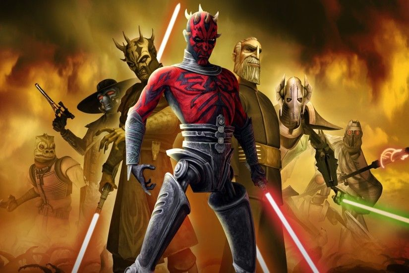 General Grievous · TV Show - Star Wars: The Clone Wars Darth Maul Bossk  (Star Wars)