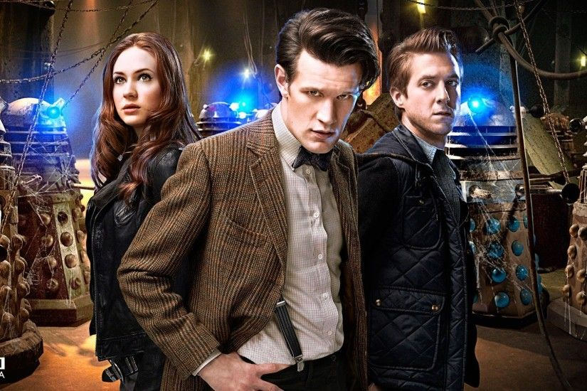 Doctor Who, Matt Smith, Karen Gillan, Daleks, Arthur Darvill, Eleventh  Doctor, Amy Pond Wallpapers HD / Desktop and Mobile Backgrounds