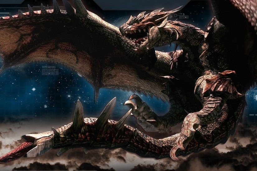 Video Game - Monster Hunter Monster Hunter 3 Rathalos (Monster Hunter)  Wallpaper