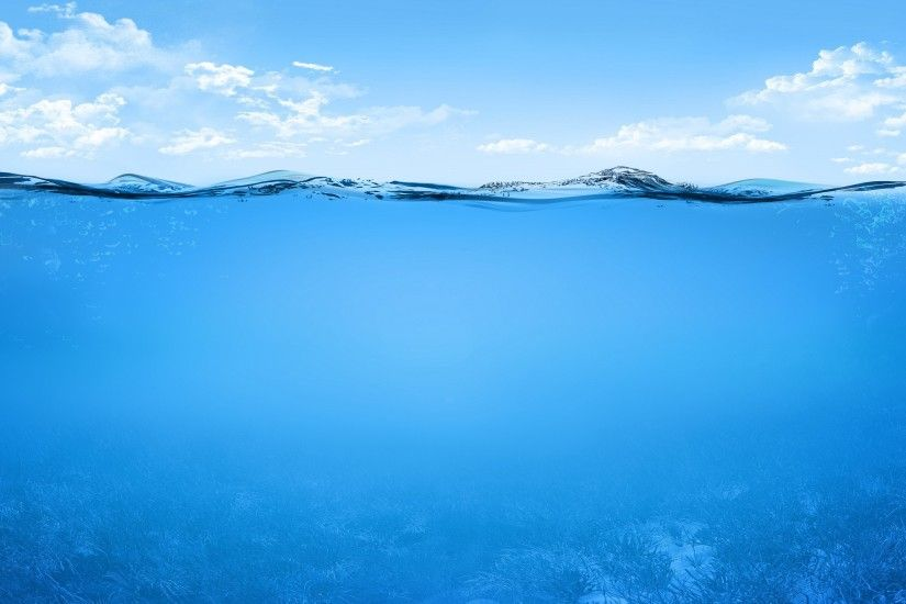 Ocean Sea Lake River Underwater Wallpapers HD Free. Download Desktop  Background Wallpaper of Sea -
