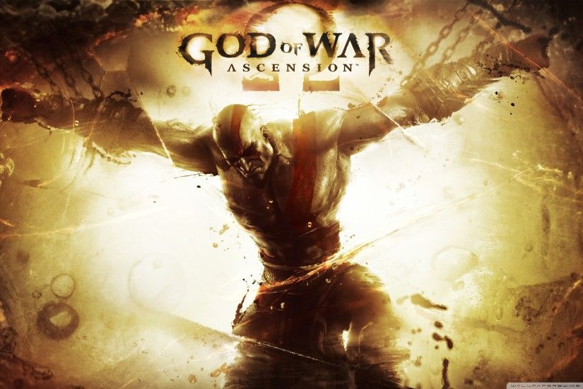 God of War: Ascension HD Wide Wallpaper for Widescreen