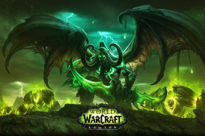 ... wow legion illidan stormrage the demon hunter 2560x1440 whqd ...