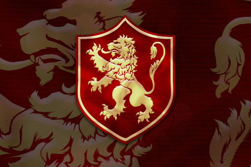House Lannister Sigil Wallpaper .