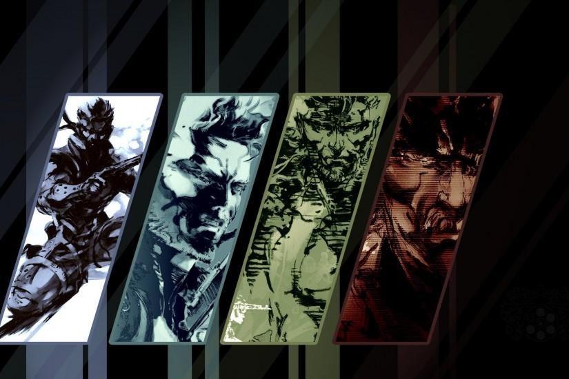 Metal Gear Solid Mgs Snake Video Games Wallpaper