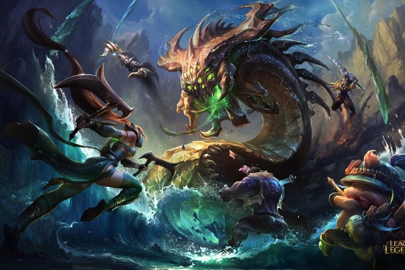 widescreen league of legends background 1920x1080 for iphone 6