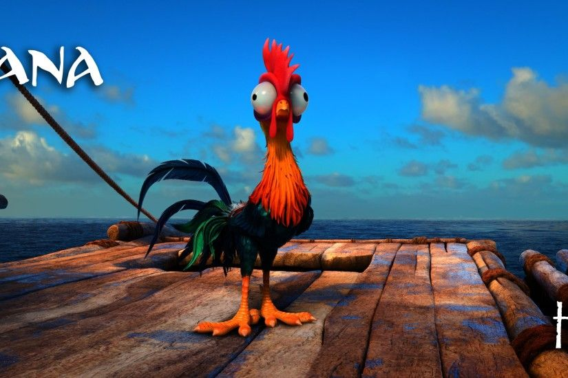 3840x1608 - moana, heihei, ocean, clouds, animation # original resolution. moana  wallpapers ...
