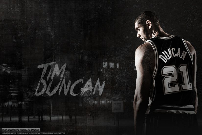 Tim Duncan Wallpaper by nazr21 on DeviantArt ...