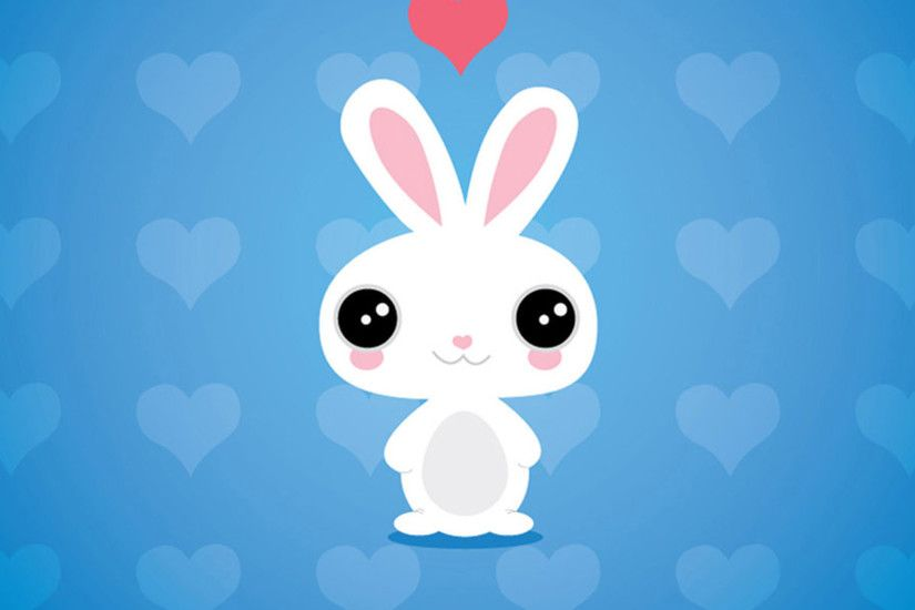 Cute cartoon rabbit iPad Air 2 Wallpapers.jpg (2048×2048)