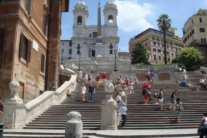 Spanish Steps Rome Wallpaper