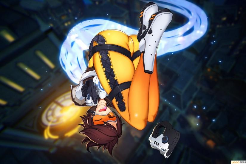 cool overwatch tracer wallpaper 2560x1440