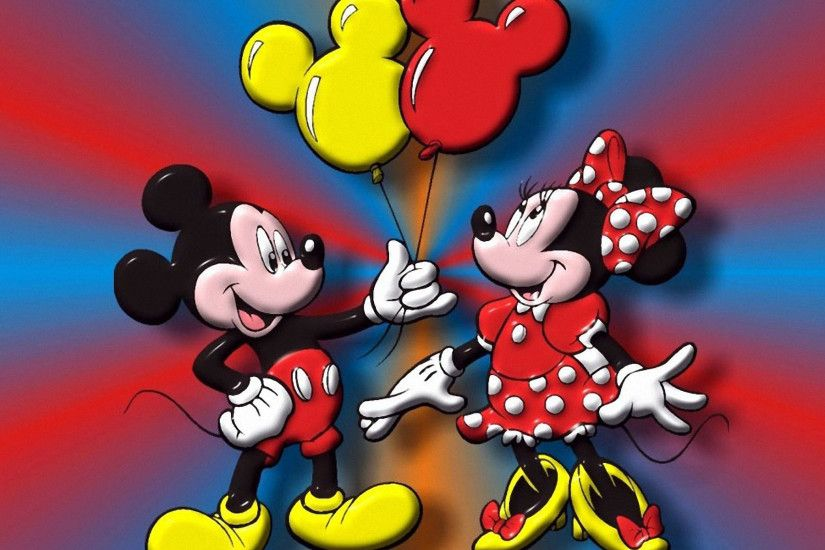 Mickey and Minnie 1920x1200 Wallpapers, 1920x1200 Wallpapers