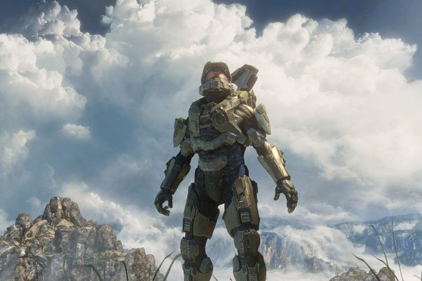 Halo, Video Games, Artwork, Halo 4, Halo: Master Chief Collection, Master  Chief, Sky, Clouds, Spartans, Weapon Wallpapers HD / Desktop and Mobile ...